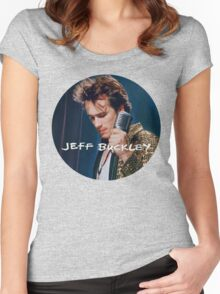 Jeff Buckley Women's Fitted Scoop T-Shirt
