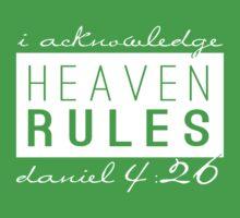 Heaven Rules Kids Tee