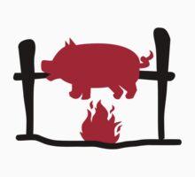 Suckling pig fire by Designzz