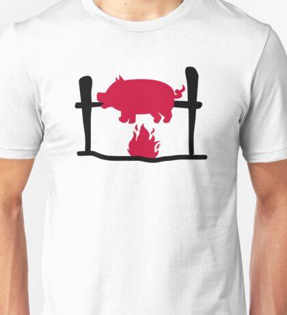 Suckling pig fire Unisex T-Shirt