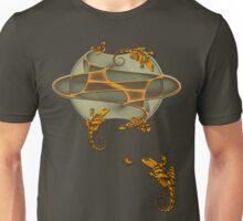 Geckos - Butterflies - Bird Unisex T-Shirt