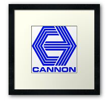 Cannon Films logo Framed Print