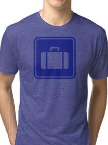 Suitcase icon Tri-blend T-Shirt