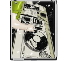 DJ in the club iPad Case/Skin