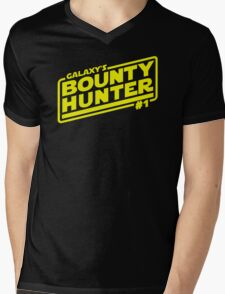 Galaxy's #1 Bounty Hunter Mens V-Neck T-Shirt