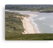 Lagg Beach Malin Co Donegal Ireland Canvas Print