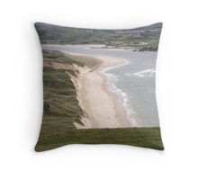 Lagg Beach Malin Co Donegal Ireland Throw Pillow