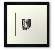 Boy - a look of learning Framed Print