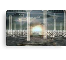 Atomic rise Canvas Print