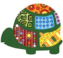 Patterned Turtle by AnMGoug