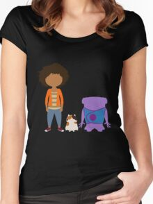 Home Trio Women's Fitted Scoop T-Shirt