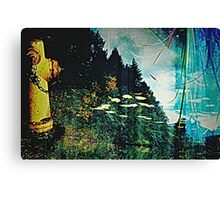 Floating Hydrant Canvas Print