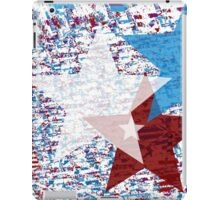 Red, White, and Blue Stars iPad Case/Skin