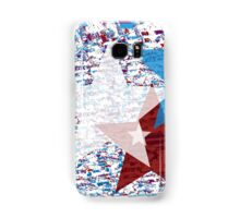 Red, White, and Blue Stars Samsung Galaxy Case/Skin