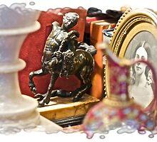 Centaur Bookend Half-man, Half-horse by Cathryn  Lahm