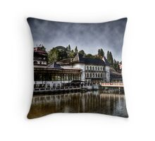 Relaxation! At Last! Throw Pillow