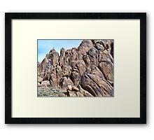 Cool Hippy Rock Framed Print