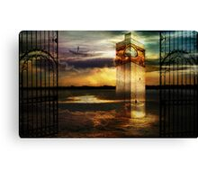 Sands of memory Canvas Print