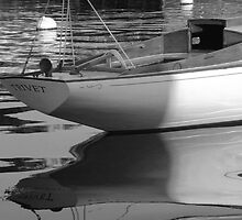 Sailboat Stern View 3 by Mary-Anne Ganley