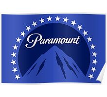 Paramount 1980s Mountain Poster