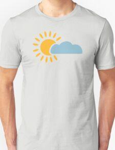 Sky sun cloud Unisex T-Shirt