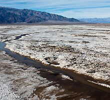Salt Flats in Death Valley by Nickolay Stanev