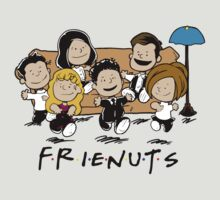 Friends Peanuts by myteeart