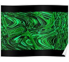 Malachite Green iPhone / Samsung Galaxy Case Poster