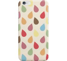 Colorful Raindrop Pattern iPhone Case/Skin