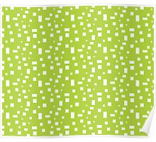 Rectangle Pattern Poster