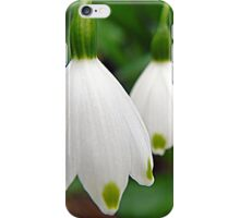 Snowdrops in Formation iPhone Case/Skin