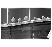Seashells on The Sill At Wyeth's Olson Farm Poster