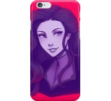asami bust iPhone Case/Skin