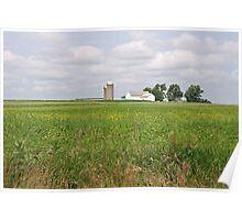 Ohio Farm Poster