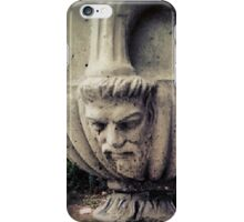 Two faced vase city street iPhone Case/Skin