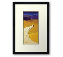 Distant Dunes Framed Print