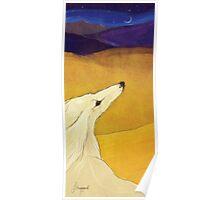 Distant Dunes Poster