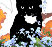 Cats Don't forget me Sticker