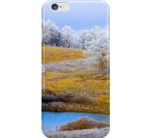 Golden Fields Of Winter, Brannon Mt. NW Arkansas, USA  iPhone Case/Skin