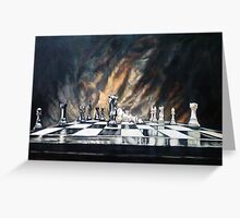 Life is a game. Greeting Card