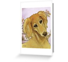 The Young One Greeting Card