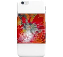 Fire under the water iPhone Case/Skin