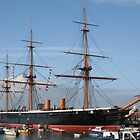 HMS WARRIOR by tammyins