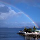 Rainbow - Hobart by Bevellee