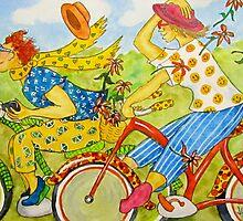 Bicycle Belles by Jeanne Vail