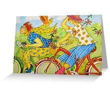 Bicycle Belles Greeting Card