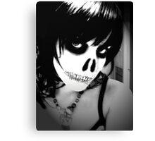 Dig Up Her Bones Canvas Print