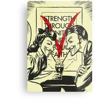 V for Valentine Metal Print