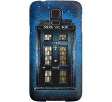 Space Traveller Box with 221b number Samsung Galaxy Case/Skin