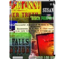 Feminist Poster Collage iPad Case/Skin